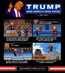 Trump : The Game by paintpixelprint