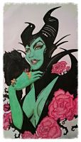 Maleficent by katstories