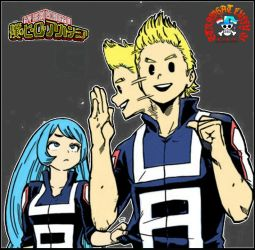 Mirio Togata and Nejire Hadou - My Hero Academia by StrawhatLuffy05