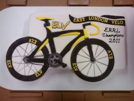 Carbon Bike Cake by mike-a