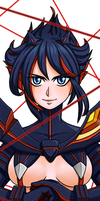 Ryuko Matoi Synchronized by CaptainLemmo