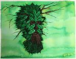 Green Man by hollow-creature