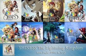 Shiness The Lightning Kingdom Icon Pack by Kalca