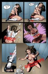 Paje Lindell Party Animal Preview Page by FullMoonMaster