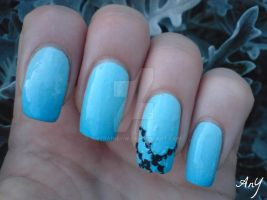 Mint Nails For Talia by AnyRainbow