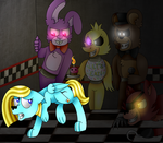 Maja at Freddy Fazbear's by ladyCuteFace