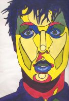 billie joe armstrong-fauvism- by bushbasher01