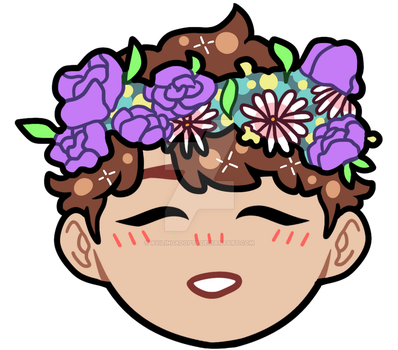 jin ft. flower crown (available on RB!) by ayilingadopts