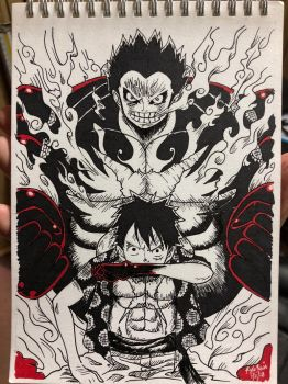 Fourth Gear Luffy by rainier024