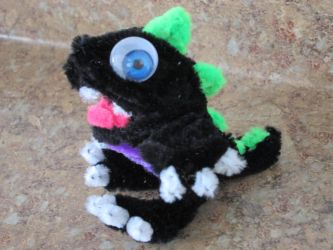 Pipe Cleaner Baby Dragon by DarkSaberCat