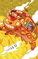 Catbus Adventure by chiou