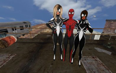 Spidergirls by Stylistic86