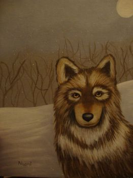 Painted Wolf by naomi-p