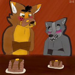 Pancake Troubles  by GrizzlyWolfSam