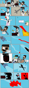 ChannelCombat The Final Episode Page 10 by JaggerSketch