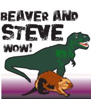 Beaver and Steve Fan Art 3 by prudentia