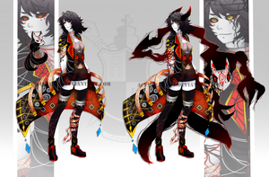 Adoptable 22:Auction Sin (SOLD) by acewalker04