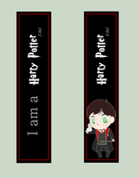 Bookmark HARRY POTTER FAN by BertMel