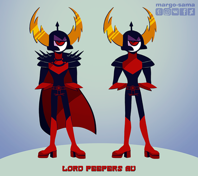 [WOY] Lord Peepers AU by Margo-sama