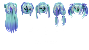 TDA Hair Edits Part 2 + DL by Lumanaera