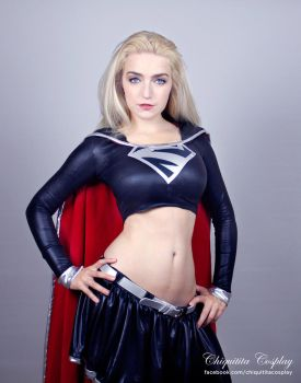 Dark Supergirl Cosplay by chiquitita-cosplay