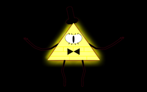 Bill Cipher by DesertDraggon