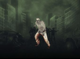 Running Zombie (animated) for xwidget by Jimking