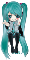 Bookmark Set: Hatsune Miku by Jika-Jika