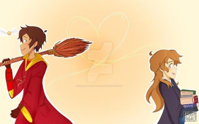 Love is in the Air (Plance Hogwarts AU) Part 1 by crazy-fangirling101