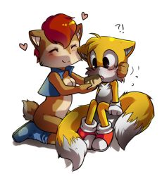 Commission: Sally and Tails by miri-kun