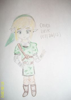 Peace! Chibi Link. by asamreen78
