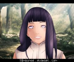 Naruto : Hinata _ A smile that says everything by MimiSempai