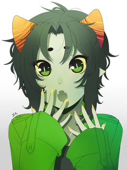 Nepeta the Moe by ShiroiAngelz