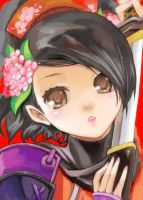 Momohime Face by UnholyChaos