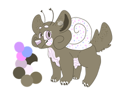 (CLOSED) Sparkly HunnyBuns   Oilings by Escarqot