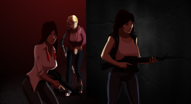 L4D Girls by Badspot