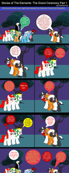Stories of The Elements: The Grand Ceremony Part 1 by EmoshyVinyl