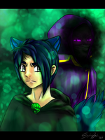 The Antagonists of Emerald Secret by Dryya