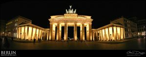 The Brandenburg Gate by gdphotography