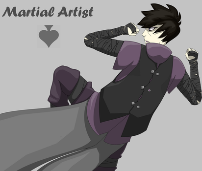 Martial Artist by Simply-Nouo