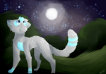 Night Boi (Commission) by Saturn-Stardust