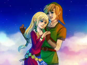 Skyward Sword romance by Renuski