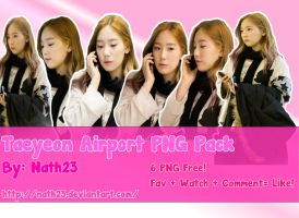 Taeyeon in Airport PNG Pack by nath23