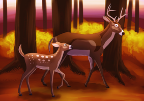 Oh my deer, you're being a pain by Chaosthief