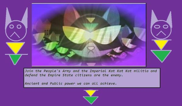 The Ministry of Propaganda poster for Imperial Kat by Wakko2010