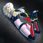 My Commission: Dark Amecomi Supergirl by gh0st-of-Ronin