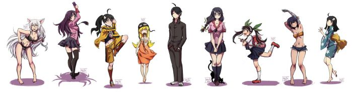 Bakemonogatari dump by Kate-FoX