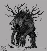 Wendigo by Halycon450