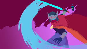 Hyper Light Drifter Minimalist Wallpaper by SlowNebula