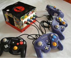 Custom Game Cube - Super Smash Bros. Melee by Toshio-Custom